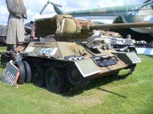 T-34 v řezu